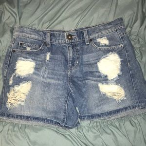 Jean shorts by Mudd